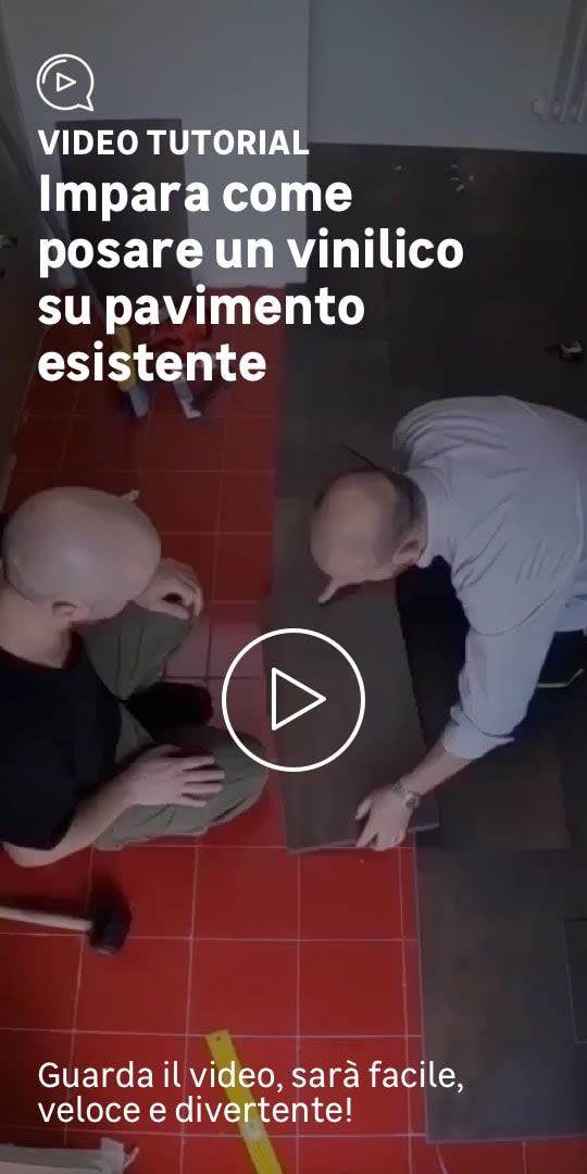 Home relooking tutorial bagno: posare un pavimento vinilico in pvc