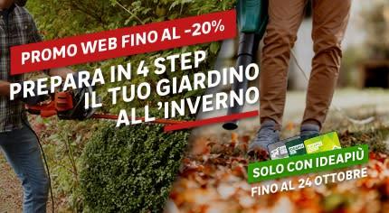 Promo web preparare il giardino all'inverno