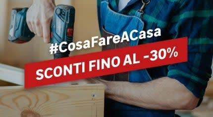 #CosaFareACasa Bricoleur