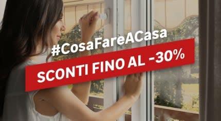#CosaFareACasa Finestre