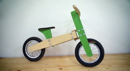 Community: realizzare una balance bike