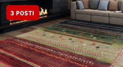 Consegna gratuita tappeti a 3 posti