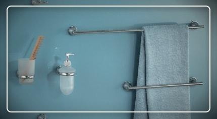 Accessori bagno da fissaggio: la scelta facile
