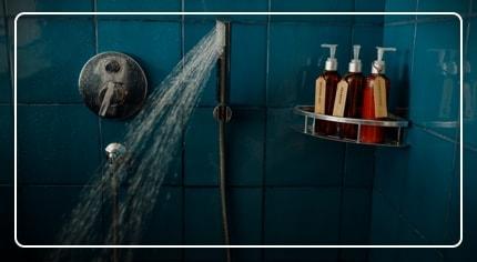 Mensola doccia: la scelta facile