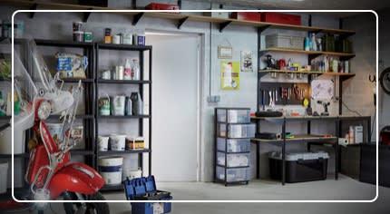Organizzare il garage: la scelta facile