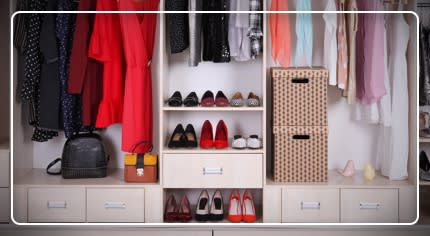 Organizzazione armadio: la scelta facile