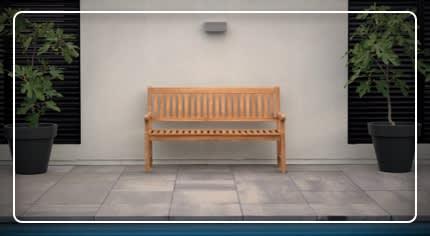 Panchina da giardino: la scelta facile