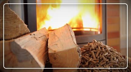 Pellet, legna e combustibili: la scelta facile