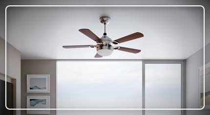 Ventilatori da soffitto: la scelta facile