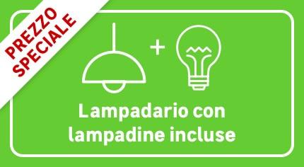 Kit lampadine e lampadari