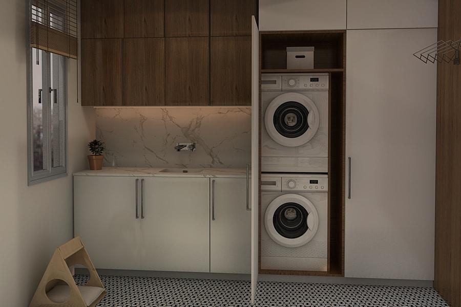Mobili Per Nascondere La Lavatrice.Mobili Per Lavanderia Guida Alla Scelta Leroy Merlin