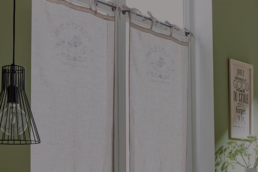 Tende Da Cucina Per Porta Finestra.Tendine A Vetro Quali Scegliere Per La Casa Leroy Merlin