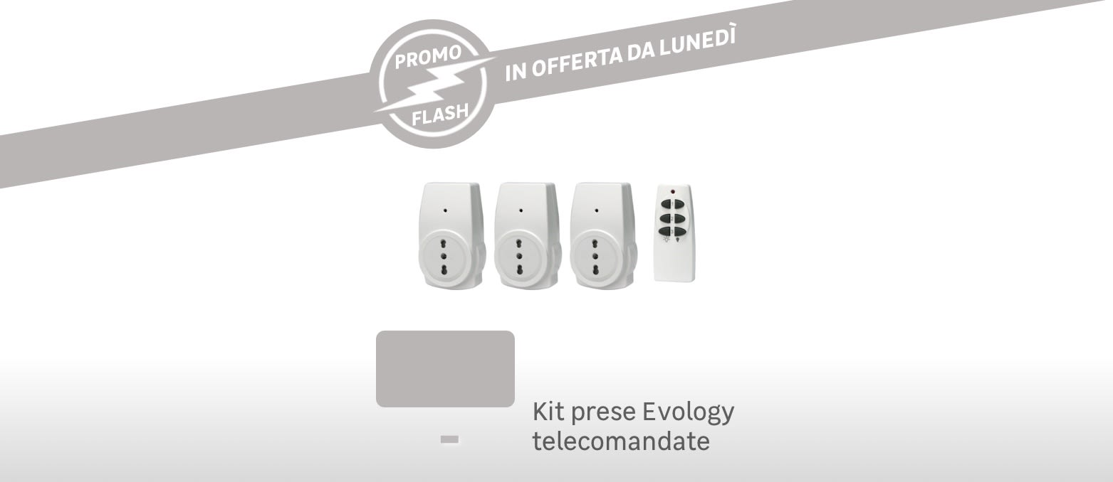 Promo Flash: kit prese Evology