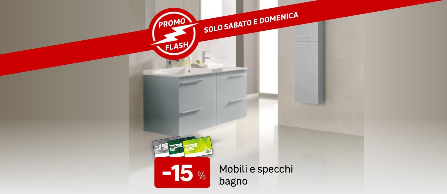 Promo Flash: mobili e specchi da bagno