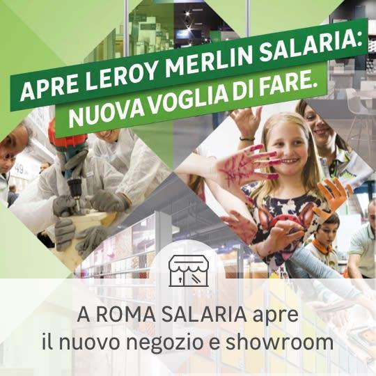 Apertura negozio Roma Salaria