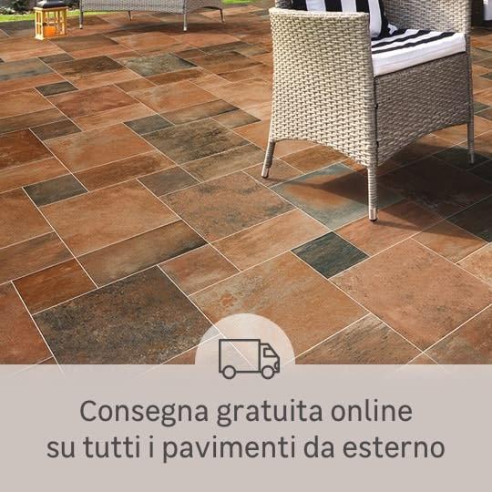 Consegna gratuita online pavimenti per esterni