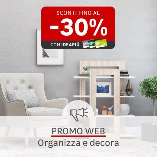 Promo web Organizza e decora