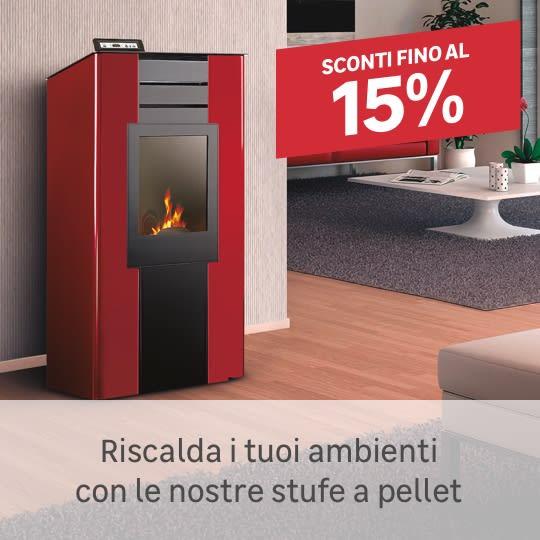 Stufe a pellet: riscalda la tua casa