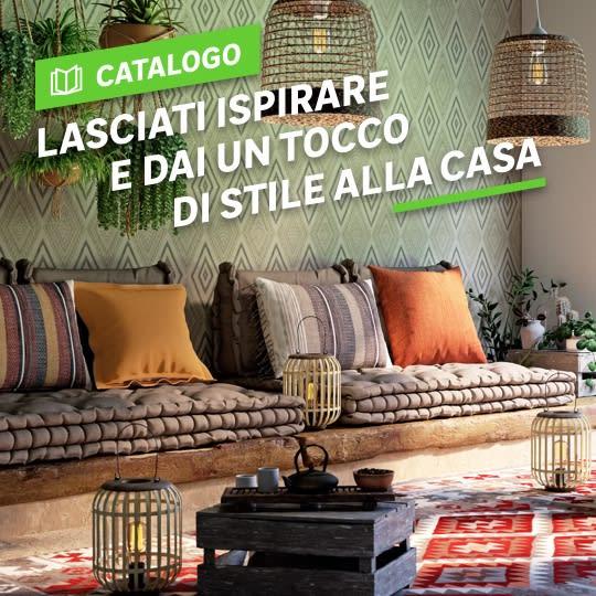 Catalogo: Lasciati ispirare e dai un tocco di stile alla casa
