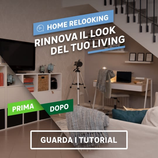 Tutorial Home Relooking: rinnova il tuo living