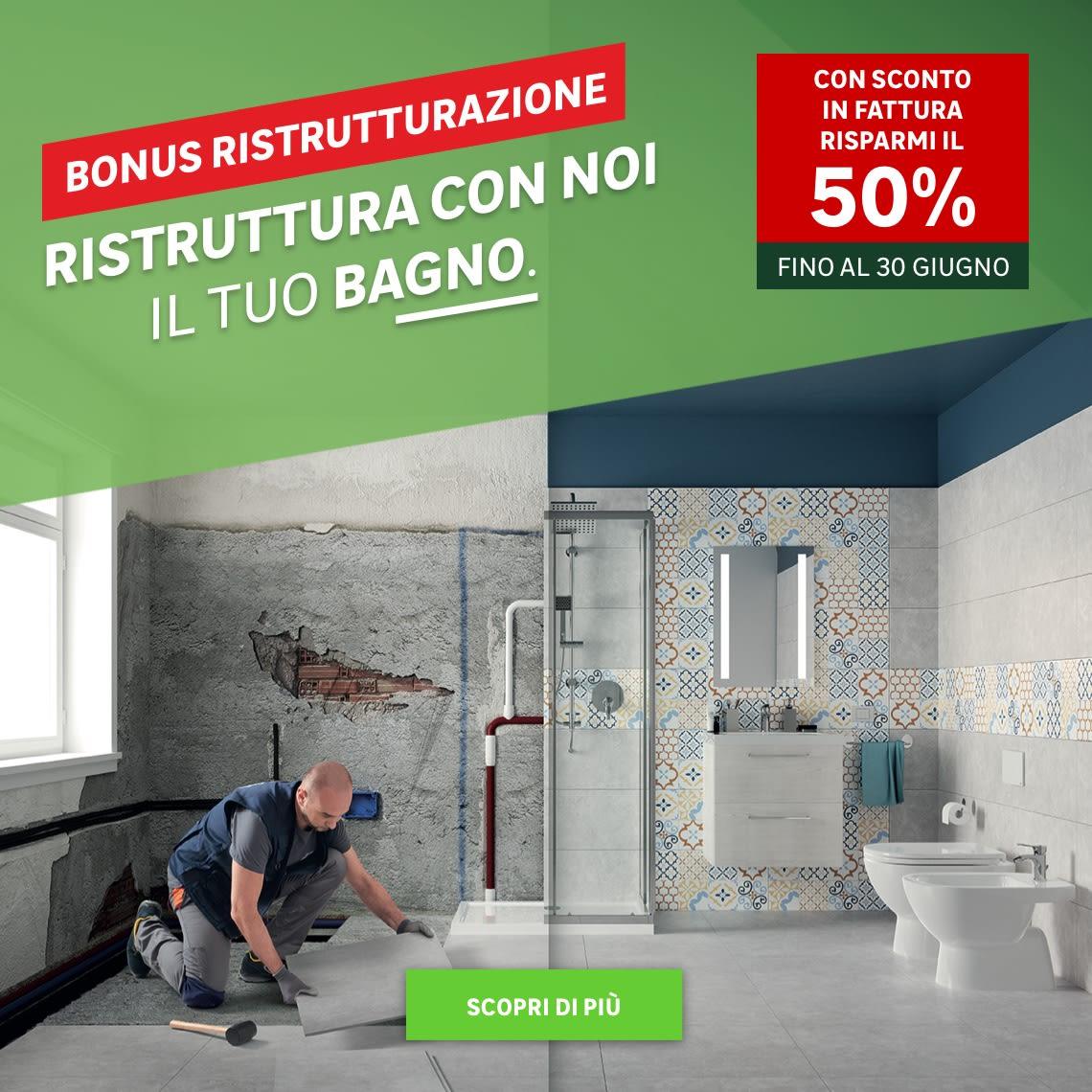 Bagno facile - Bonus ristrutturazione