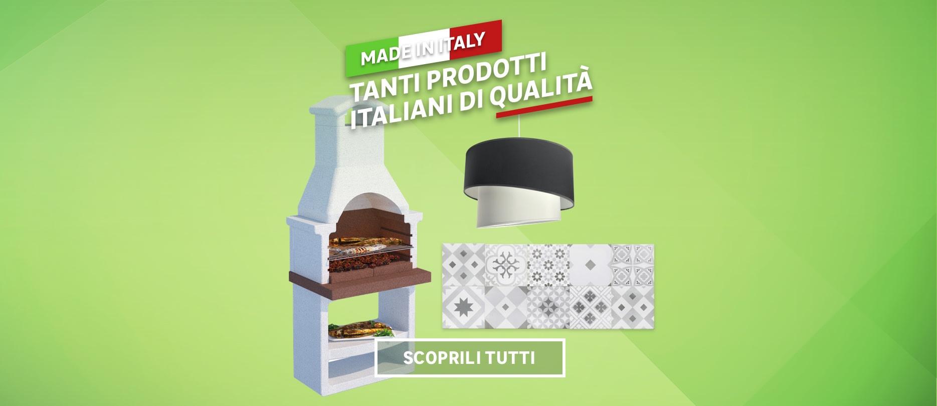 Tanti prodotti italiani di qualità