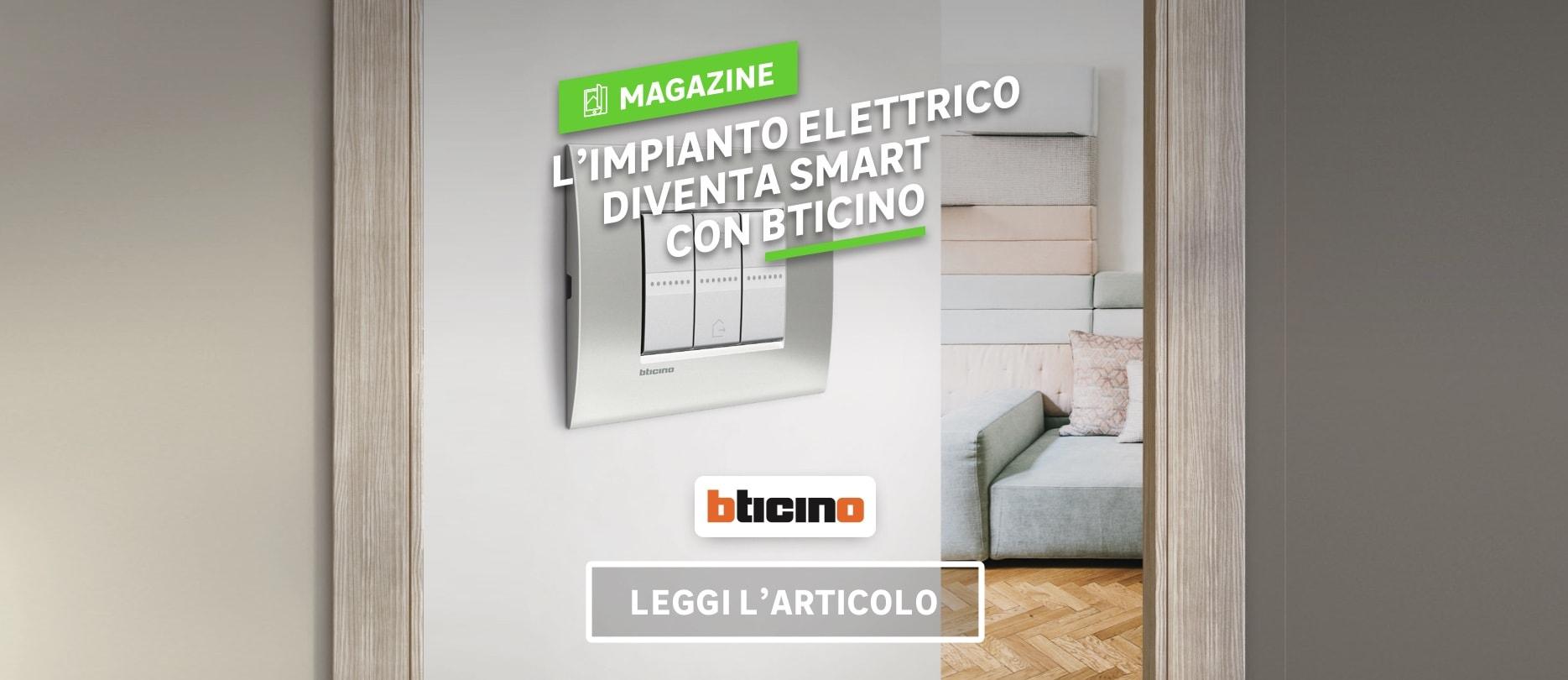 Articolo magazine: Impianto elettrico Smart