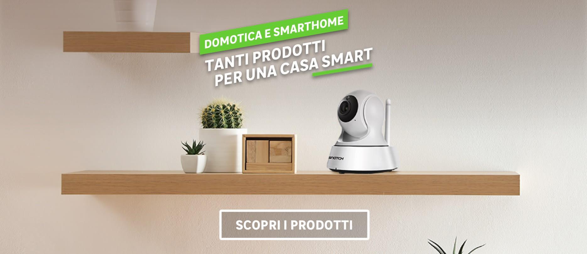 Tanti prodotti domotica e smarthome