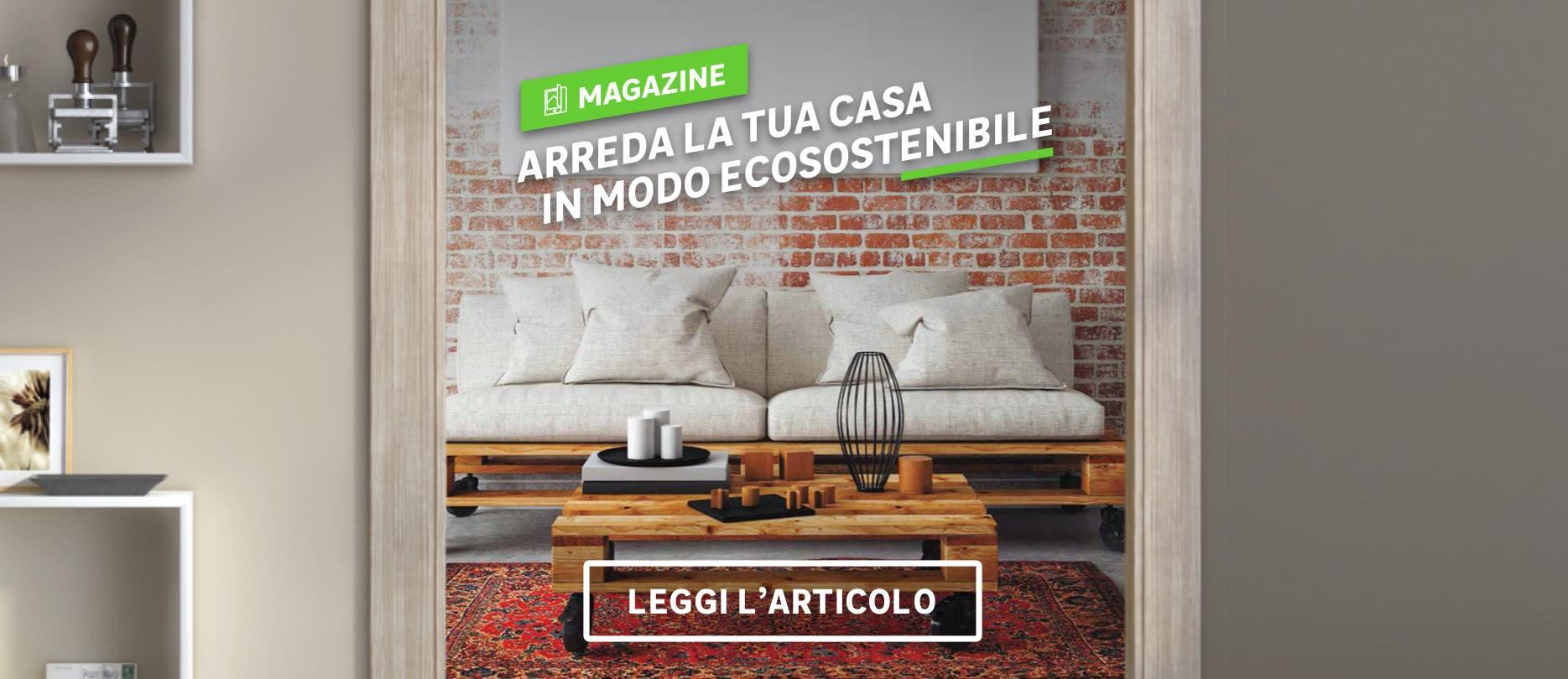 Community Magazine: Arreda la tua casa in modo ecosostenibile
