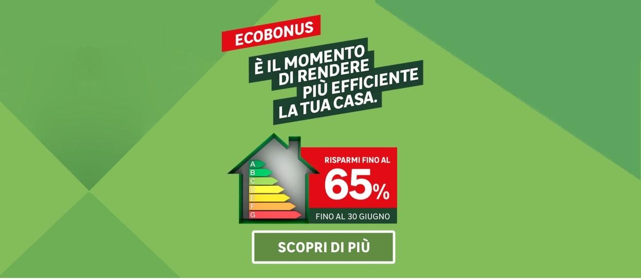 Ecobonus: scopri come risparmiare