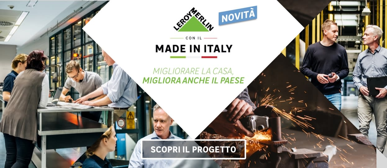 Il meglio del Made in Italy - Leroy Merlin