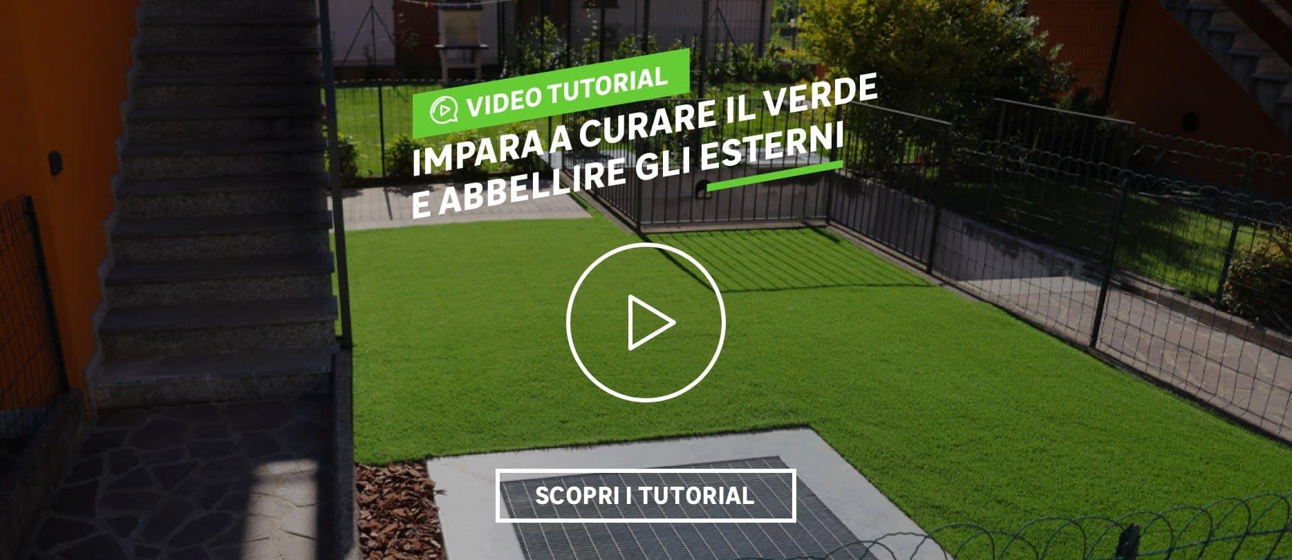 Video tutorial giardino