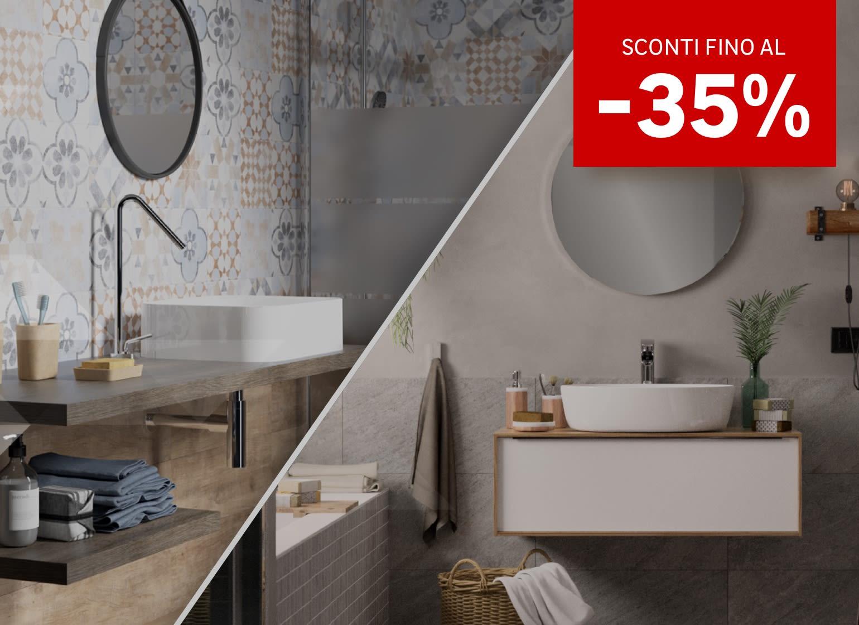 Da noi prodotti e soluzioni per un bagno tutto nuovo