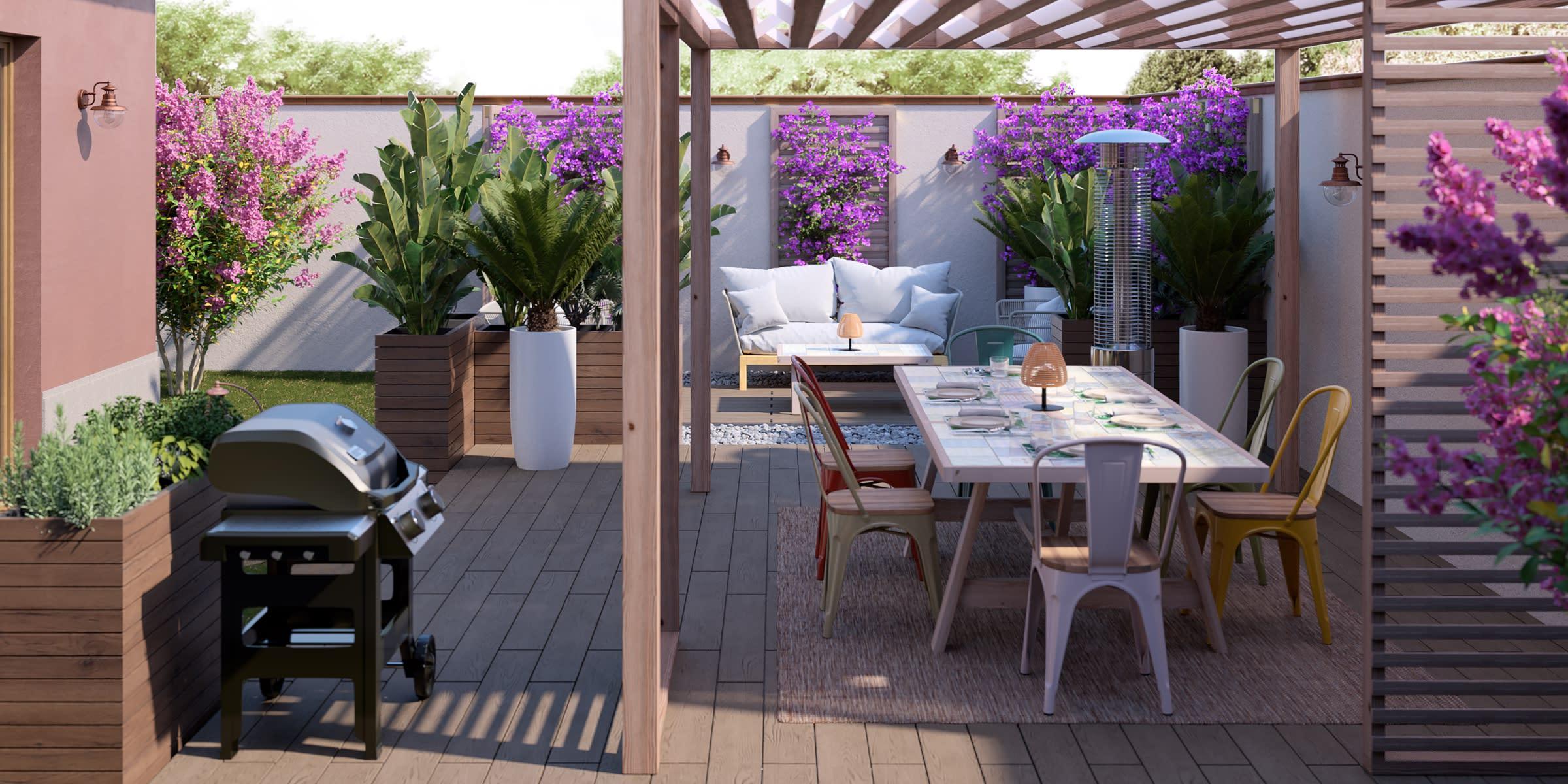 arredare-giardino-rettangolare