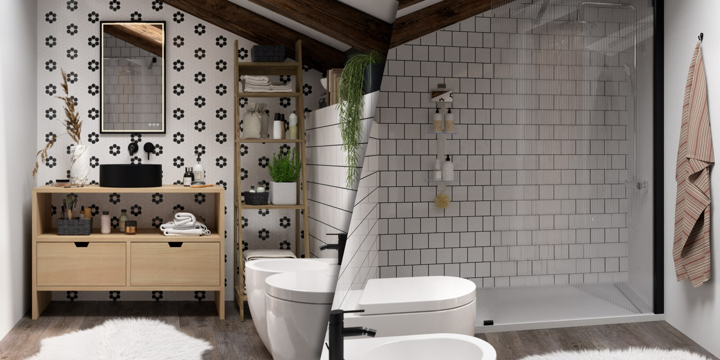 arredare bagno in mansarda
