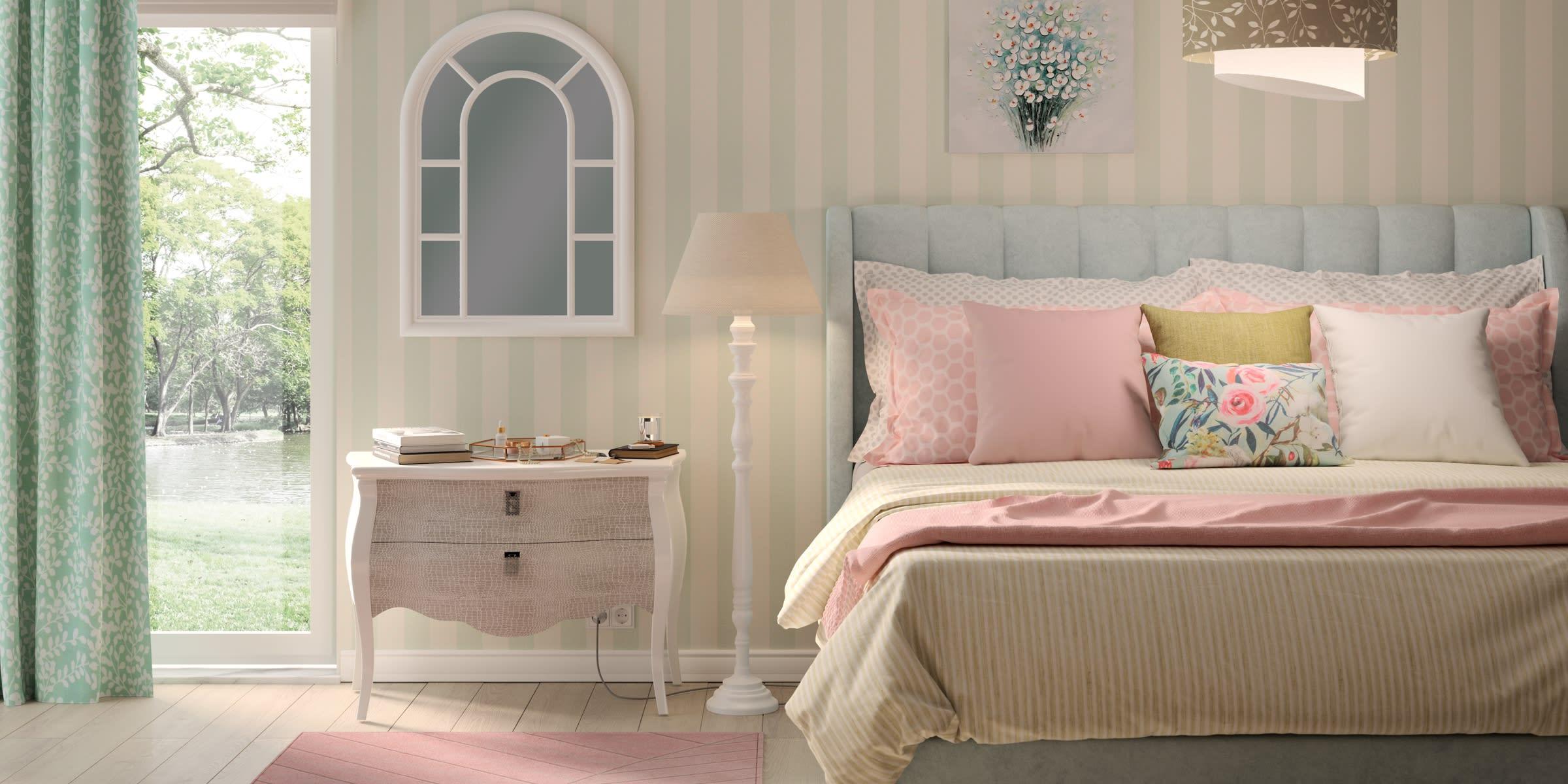 Arredare camera da letto stile country