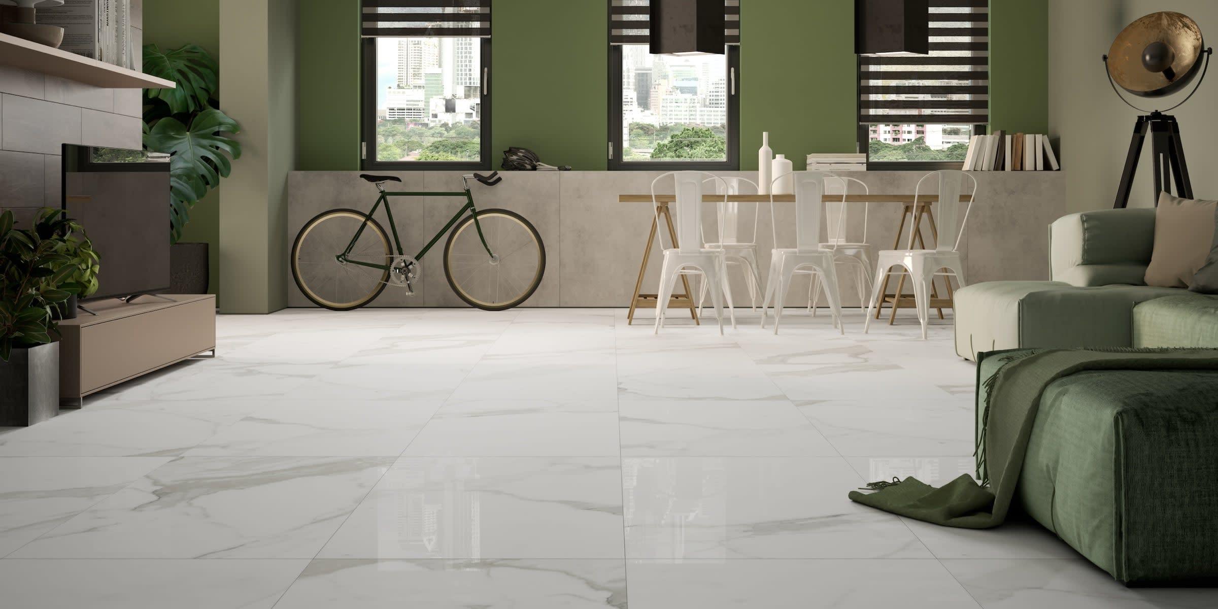 pavimento gres effetto marmo