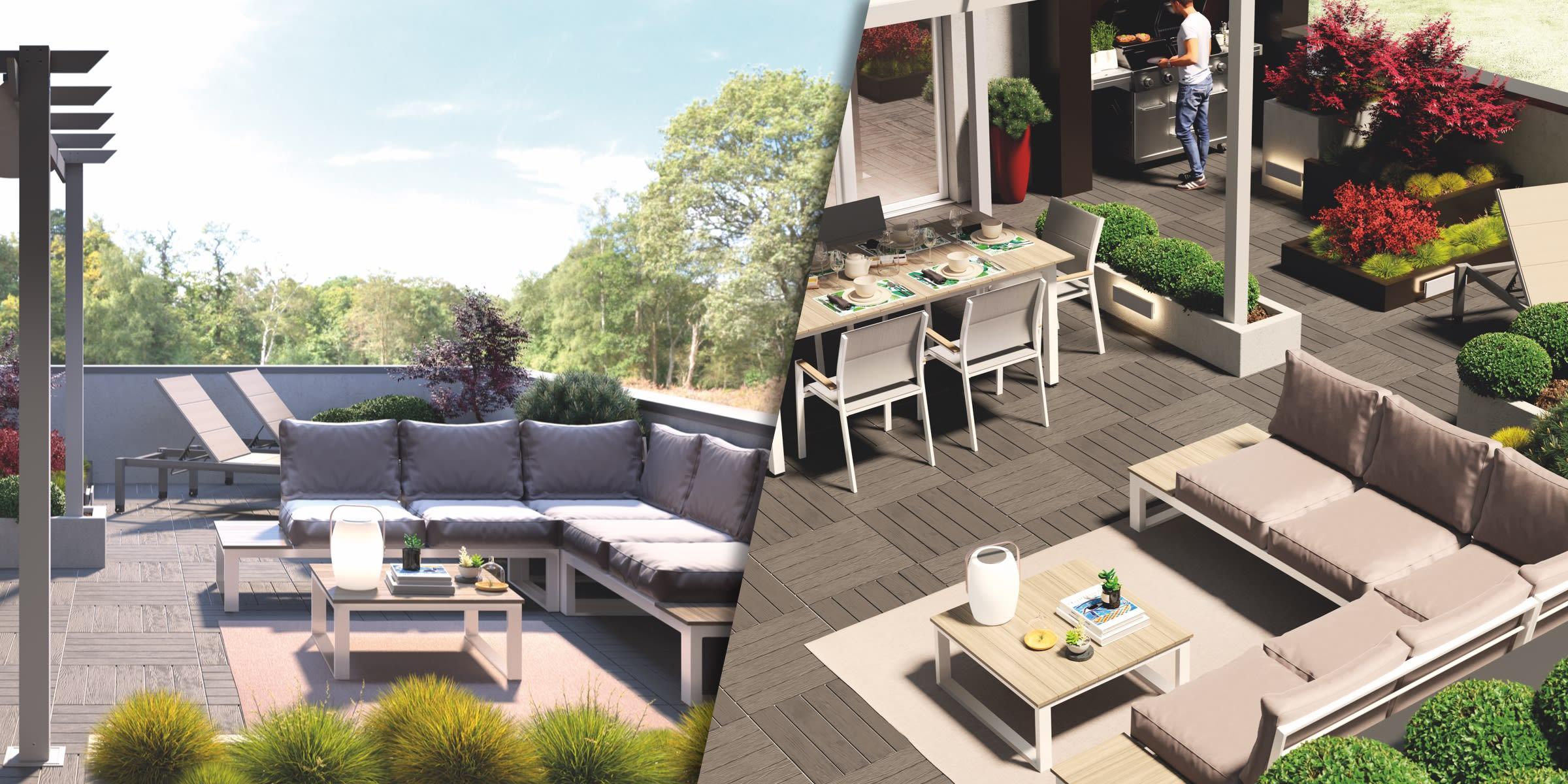progetto grande terrazzo
