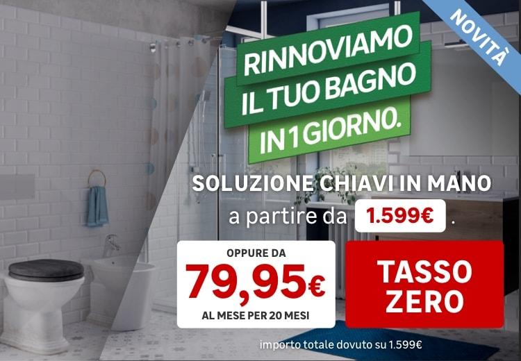 Bagno Facile Tasso Zero