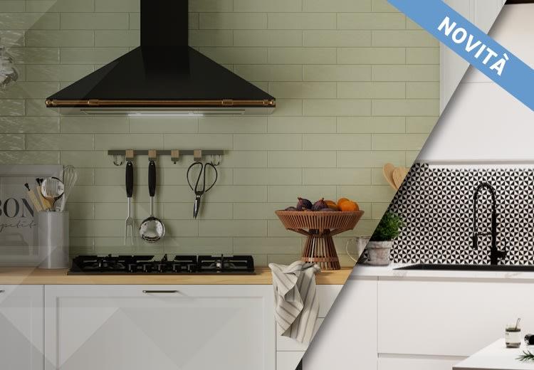 Idee e progetti rivestimenti cucina