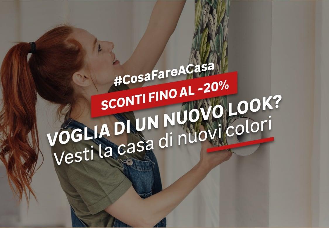 #CosaFareACasa Colori