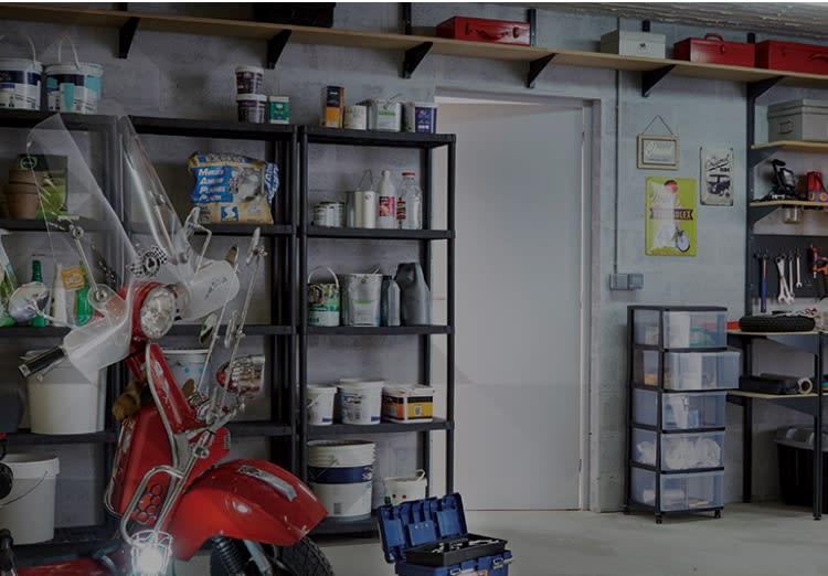Organizzare garage: la scelta facile