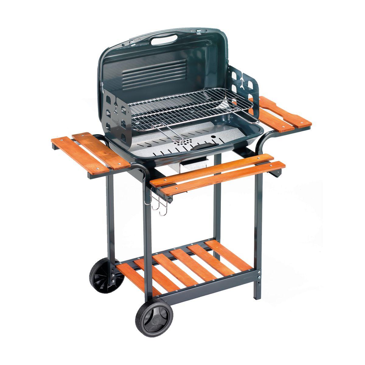 leroy merlin barbecue notre expertise barbecue bois barbecue avec couvercle charbon de bois. Black Bedroom Furniture Sets. Home Design Ideas