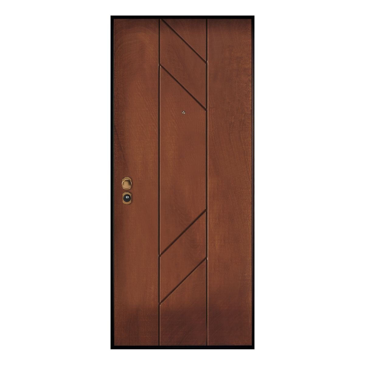 Porta blindata Perfect noce L 90 x H 210 cm dx: prezzi e offerte ...