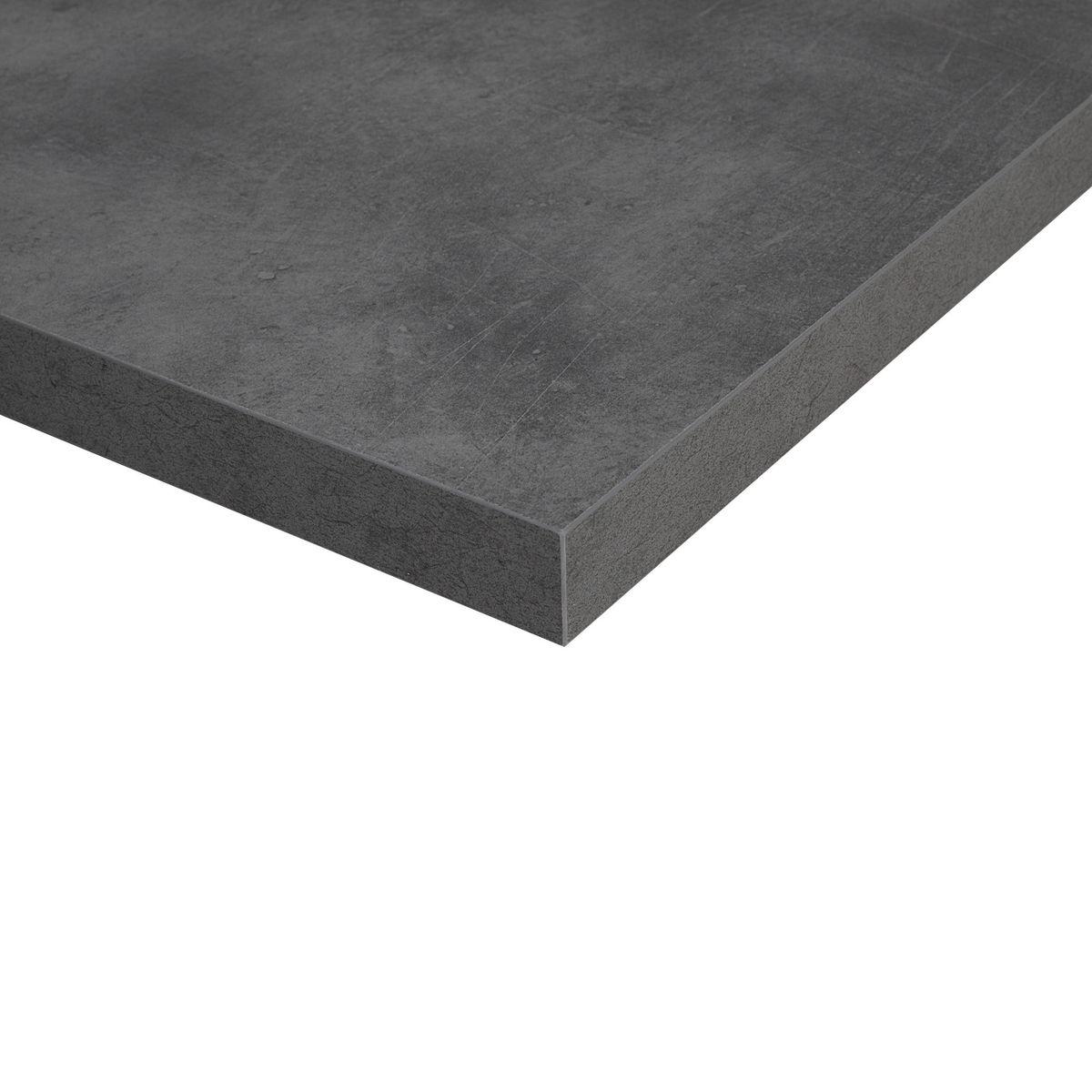 Top cucina grigio perfect colore pareti cucina bianca top - Top cucina laminato su misura ...