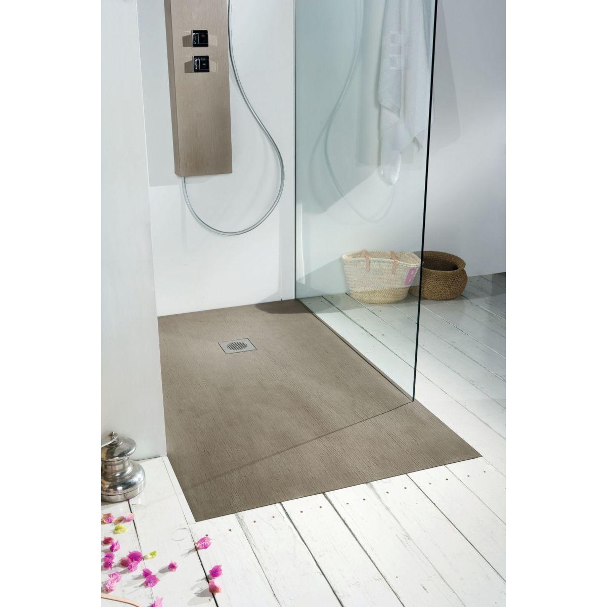 piatto doccia resina forest 80 x 80 cm frassino: prezzi e offerte online