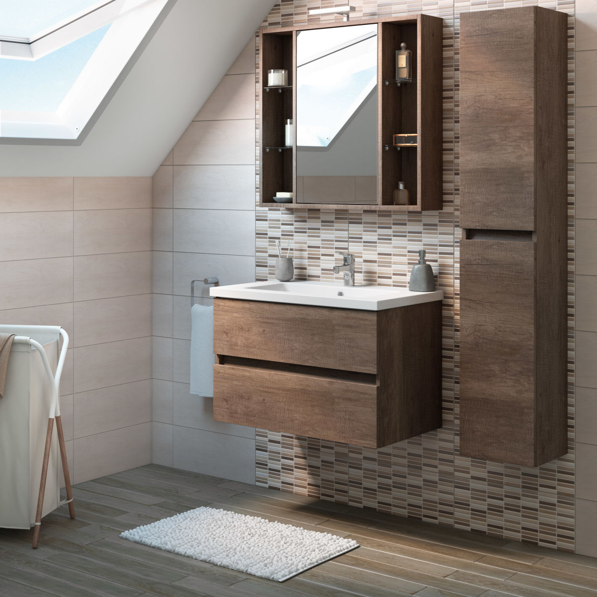Mobile Bagno Sospeso Leroy Merlin | Home Design Partner