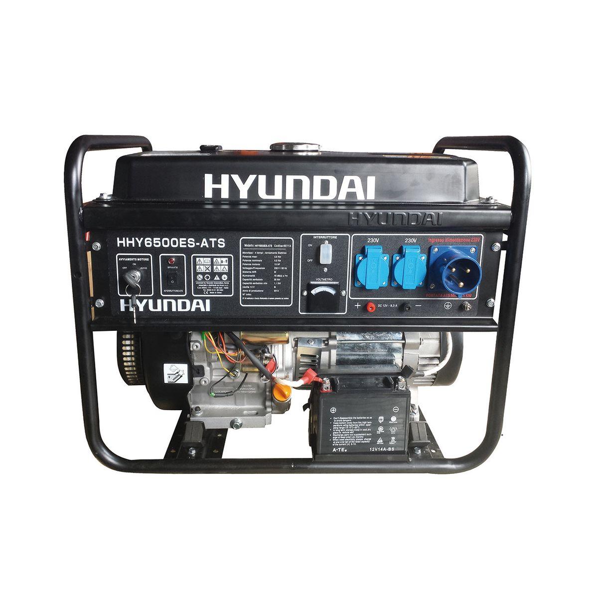 Generatore di corrente hyundai 5 5 kw prezzi e offerte online for Generatore leroy merlin