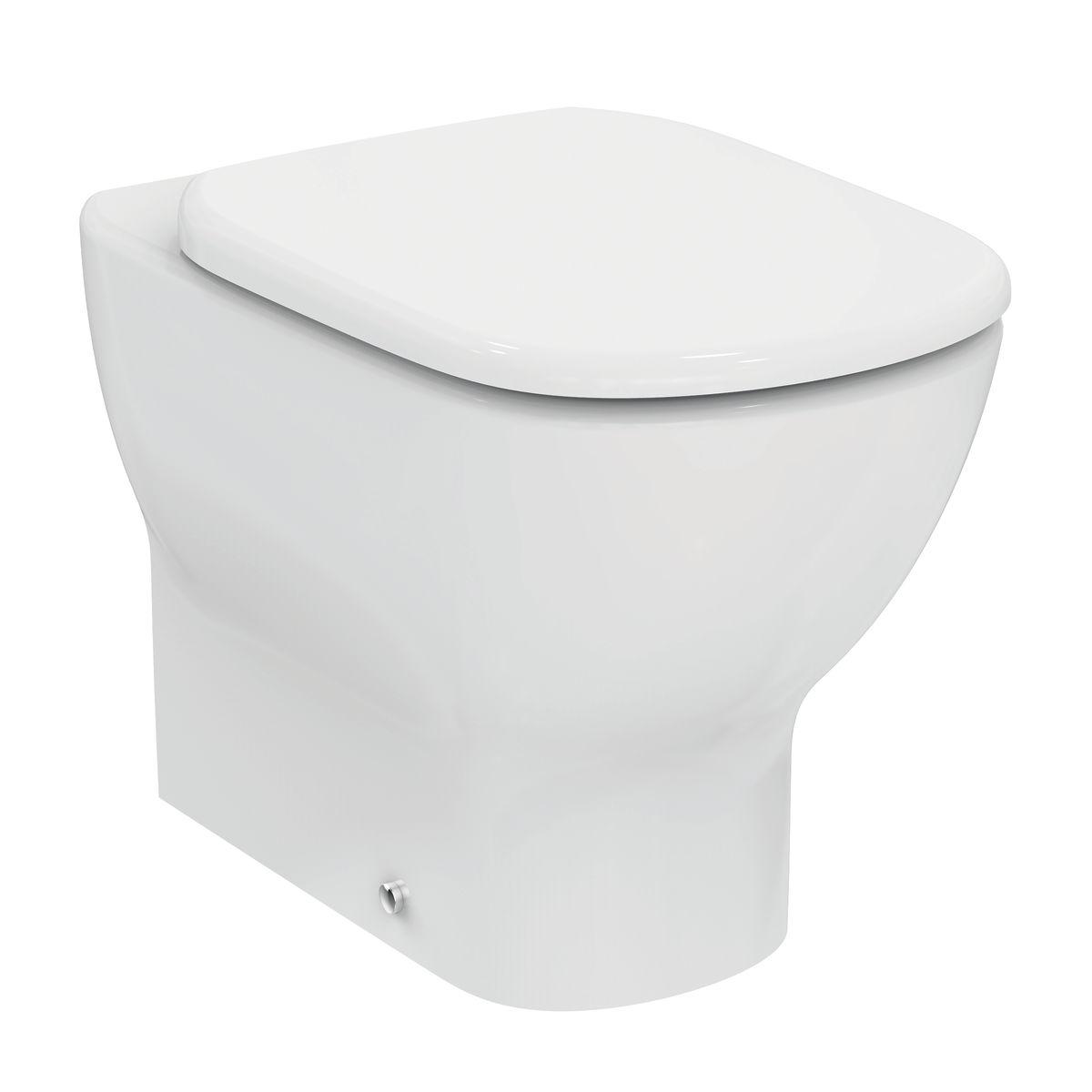 Wc e bidet incorporato free kinse deluxe sedile per wc for Copriwater leroy