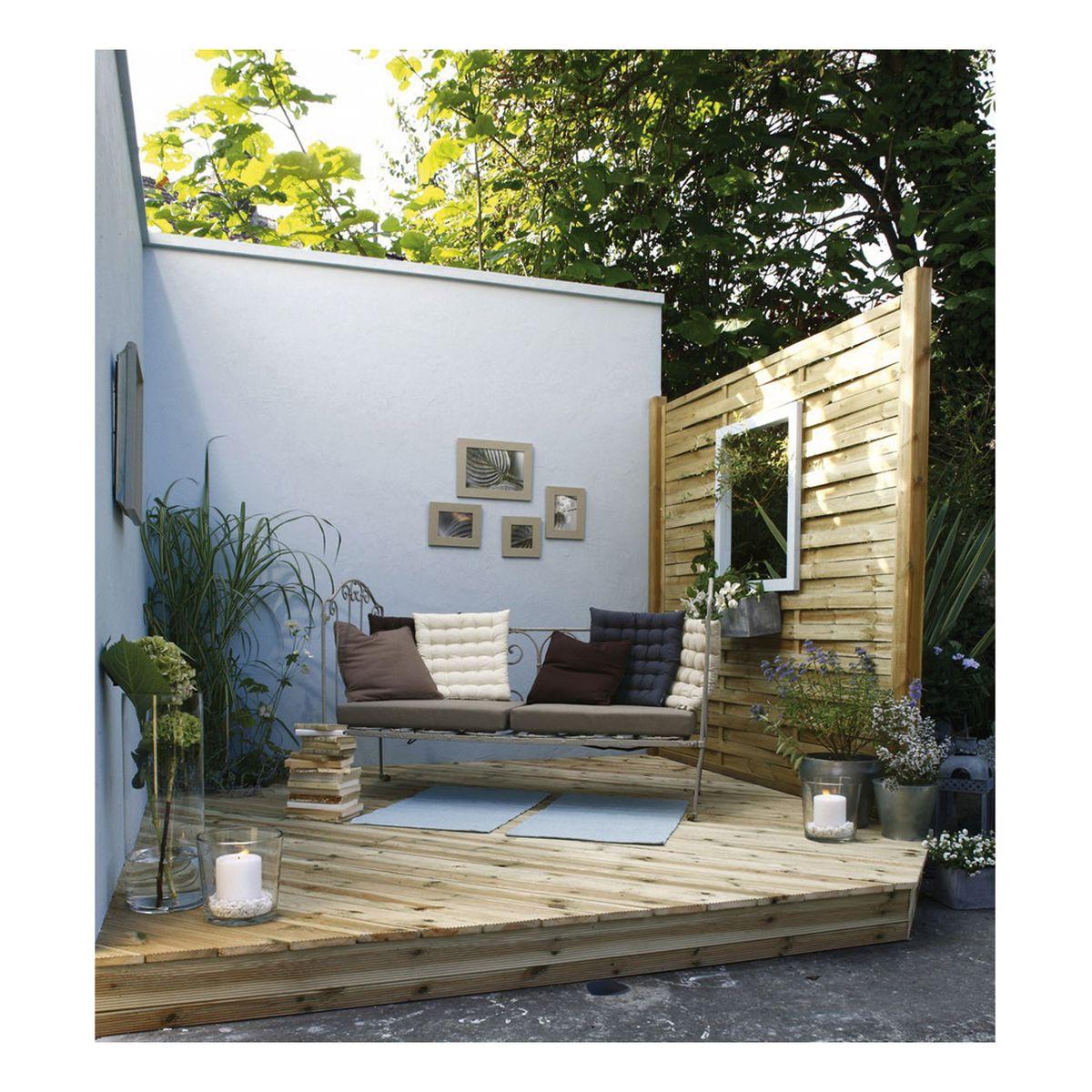 Fontane per giardino in muratura for Erba a rotoli leroy merlin